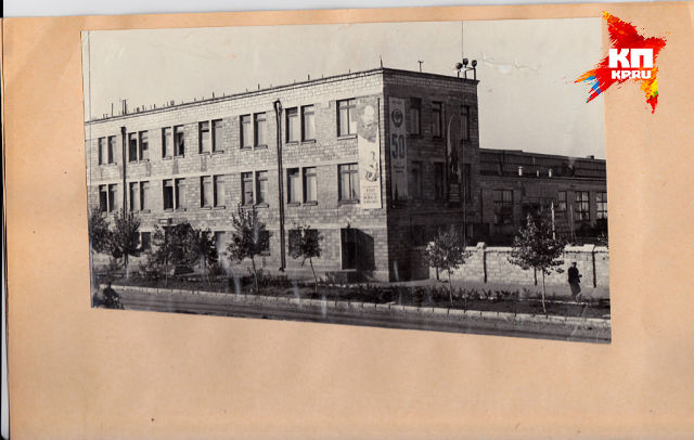 Первое административное здание БОЭРЗ . 1960-е годы. Мало кто его помнит таким ...