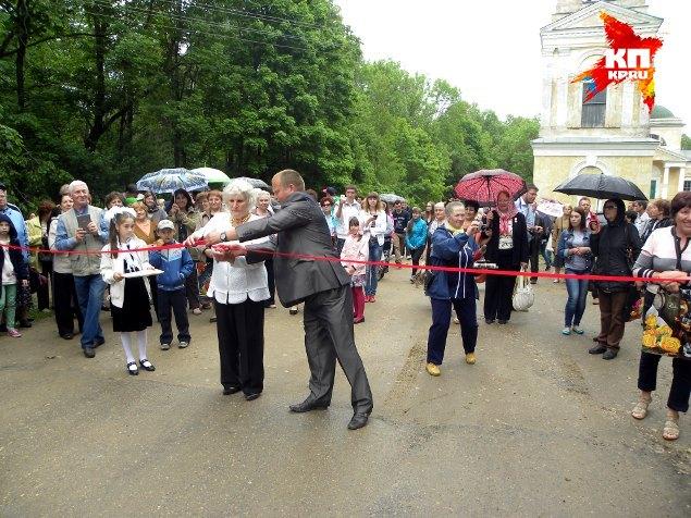Главная улица в селе Прямухино теперь также носит имя Бакунина