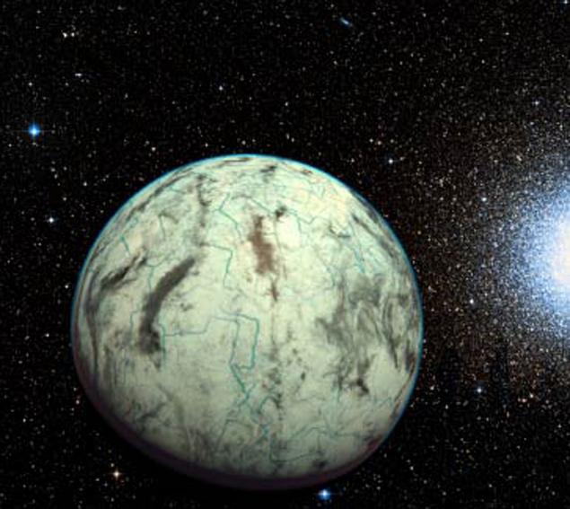 """Астрономы полагают, что планета-пришелец могла прежде """"жить"""" в 16 тысячах световых годах от Земли."""