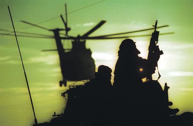 Первая чеченская. Он один из многих, кто воюет уже 20 лет.