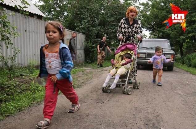 Семья Кобченко, которой наши спецкоры привезли памперсы
