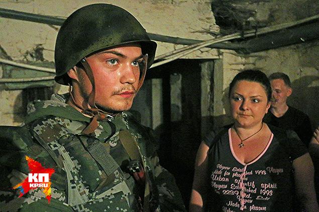 Малой (служивший в 25-й бригаде ВДВ Украины) и начмед ополчения Ольга