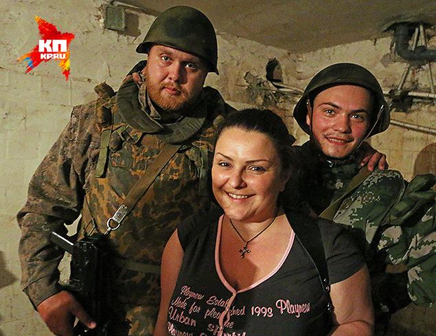 Ольга, начмед ополчения и охрана госпиталя - Малыш и Малой.