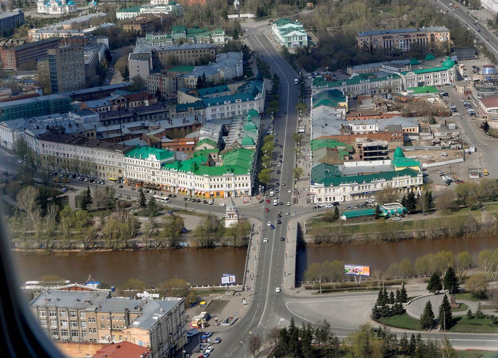 Улица Ленина, Юбилейный мост