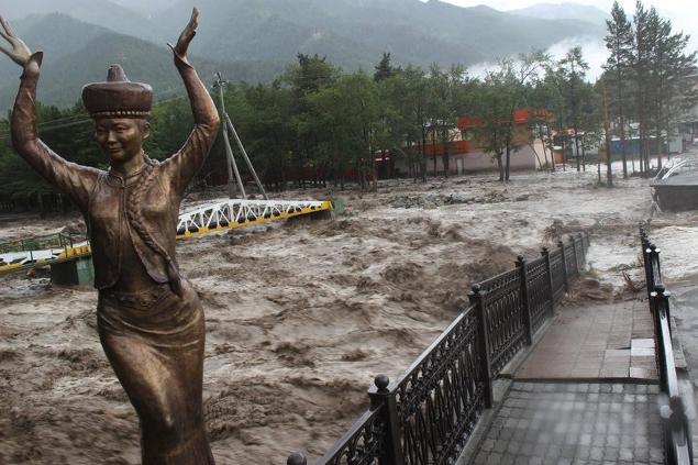 время наводнения в Аршане