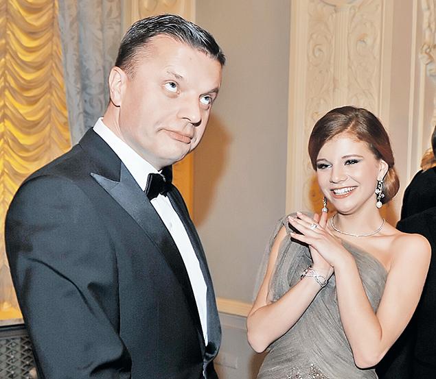 Леонид Парфенов и Мария