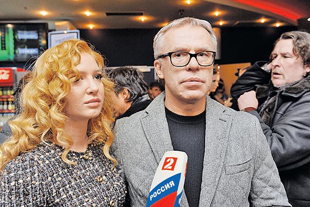 Вячеслав Фетисов иАнастасия