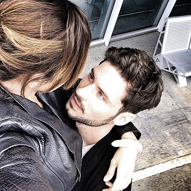 Признавшись, кто ее возлюбленный, Аня разместила это фото в Инстаграме.