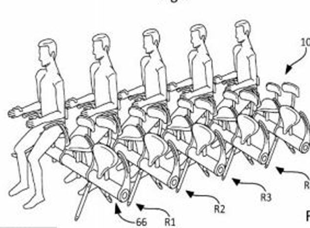 Авиапассажиры могли бы еще и педали крутить