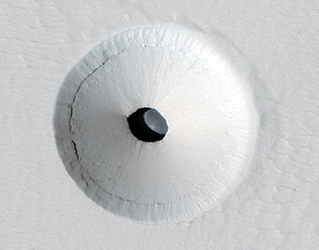 Похожий на унитаз марсианский объект
