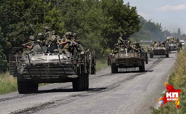 Основное преимущество украинской армии заключается в абсолютном превосходстве в тяжелом вооружении – в артиллерии, реактивных системах залпового огня и в танках