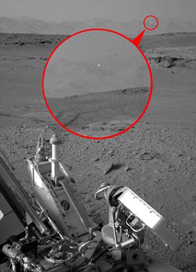 НЛО на Марс