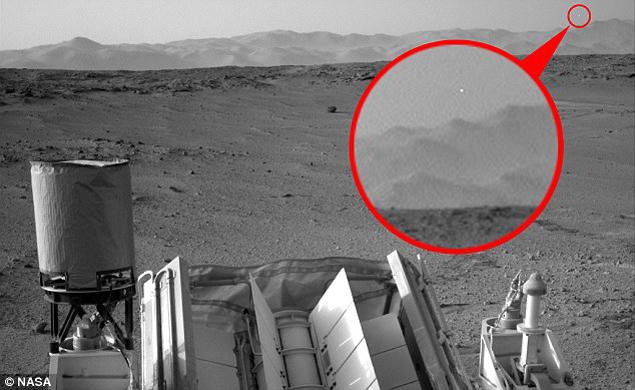 Марс заснето НЛО
