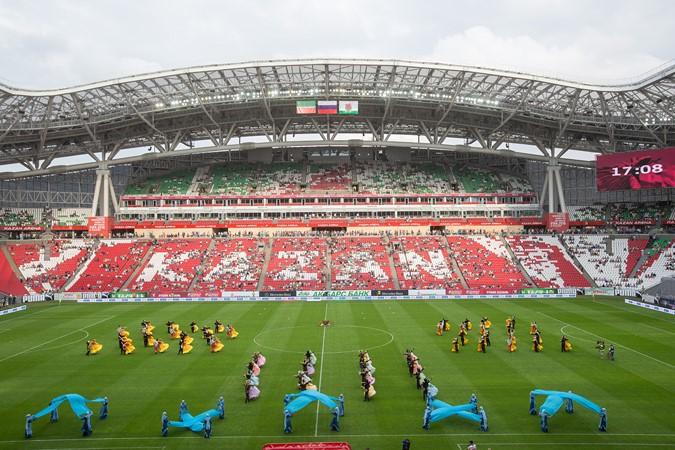 Новый красавец-стадион вмещает