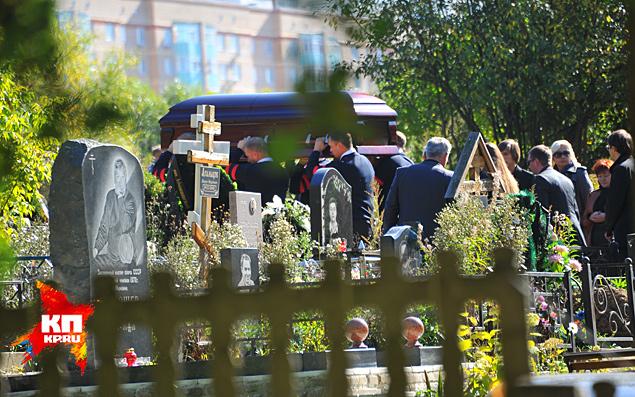 кладбище в Химках