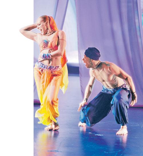 Индийский танец ане тихой и виталию