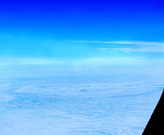 В Антарктиде обнаружен круг