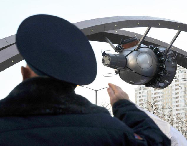 Алексей леонов на церемонии открытия