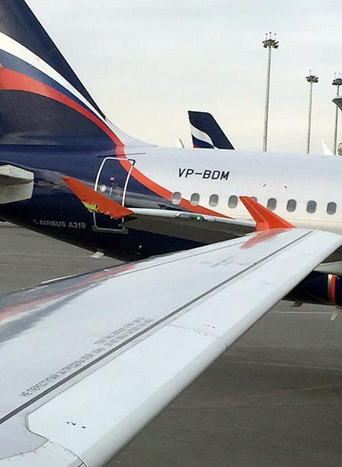 В Шереметьево два самолета