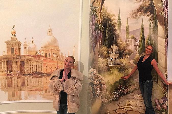Анастасия Волочкова устроит в новом доме театр