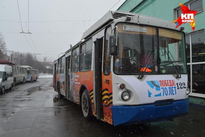 Троллейбусы в праздничные дни