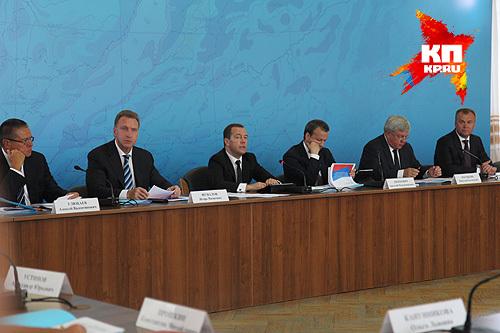Совещание в Усолье-Сибирском