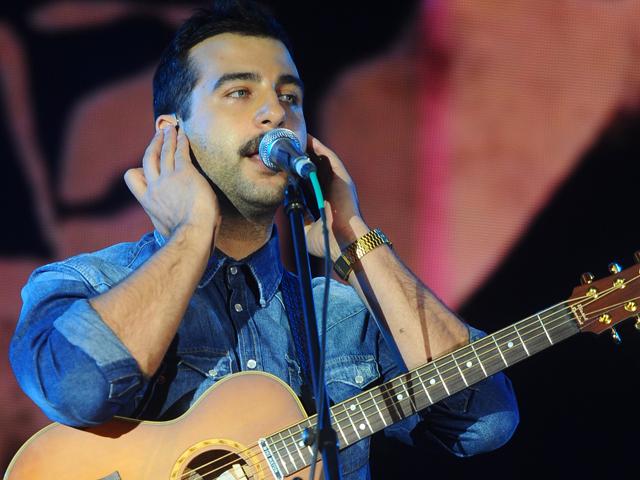 Гриша Ургант выступил с концертом в Парке Горького
