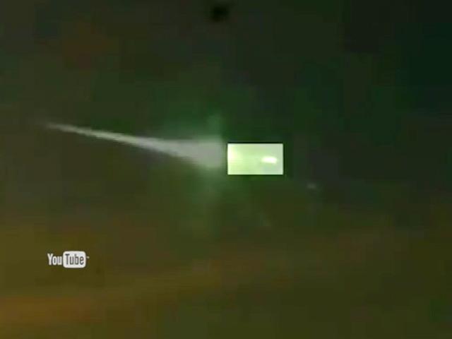 Челябинский метеорит сбил НЛО?