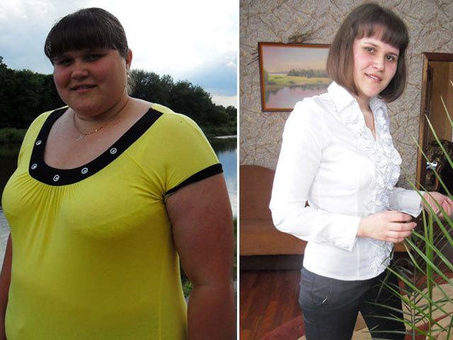 Как девушка за 8 месяцев сбросила 53 кг?