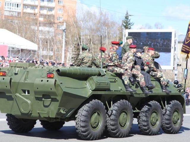 Парад Победы в Ижевске