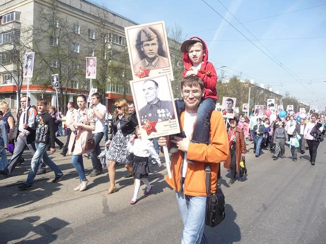 «Бессмертный полк» в Новокузнецке