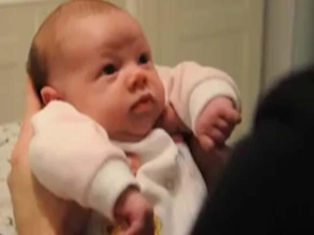 Как за одну минуту укачать малыша