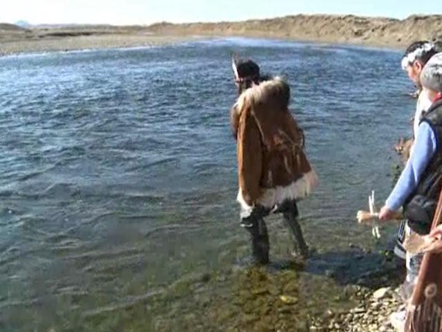 Ительмены отметили Праздник вскрытия реки Каврал