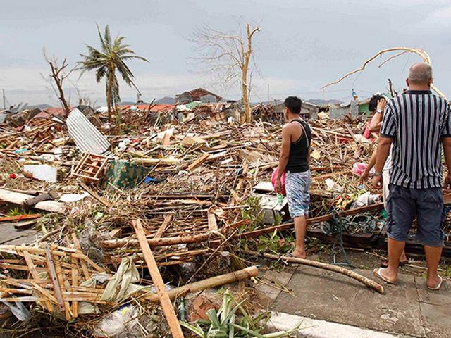 Мощный тайфун унес тысячи жизней на Филиппинах