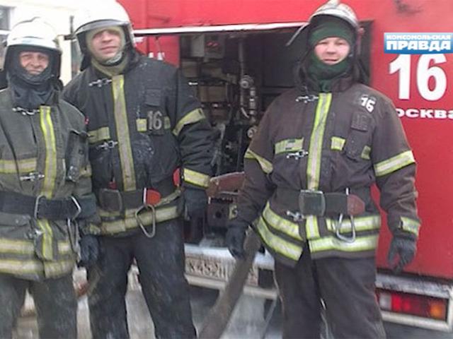 Двое пожарных погибли в Москве, спасая людей