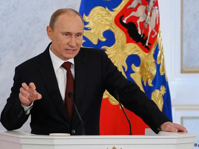 Самые яркие фрагменты выступления Владимира Путина в послании Федеральному собранию
