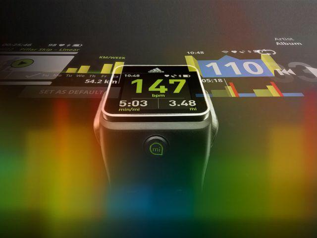 Умные часы - adidas miCoach SmartRun