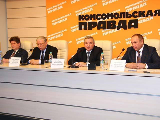 """В понедельник в """"Комсомольской правде"""" прошла пресс-конференция, посвященная Дню российской науки"""