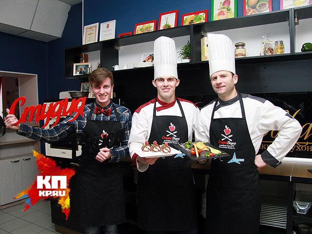 Кулинарный мастер-класс к 8 марта от барнаульских шеф-поваров (март 2014 год)