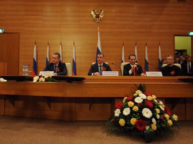 Депутаты Госдумы провели встречу с крымской  делегацией