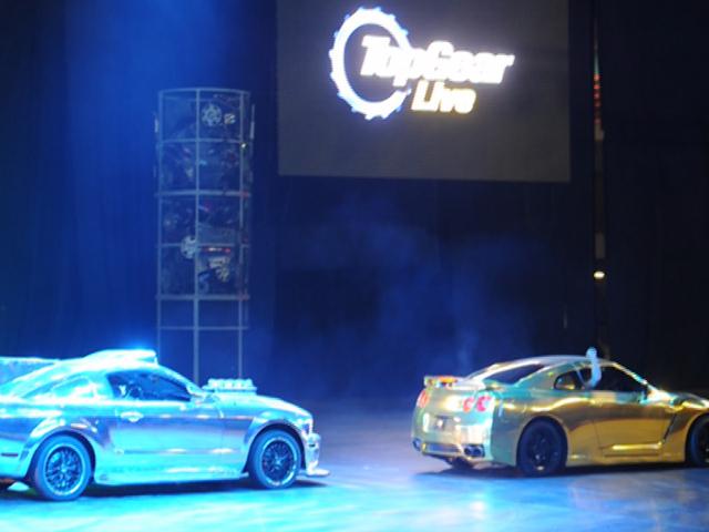 Top Gear Live приехал в Москву