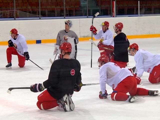 Как белорусские хоккеисты готовятся к чемпионату мира по хоккею?