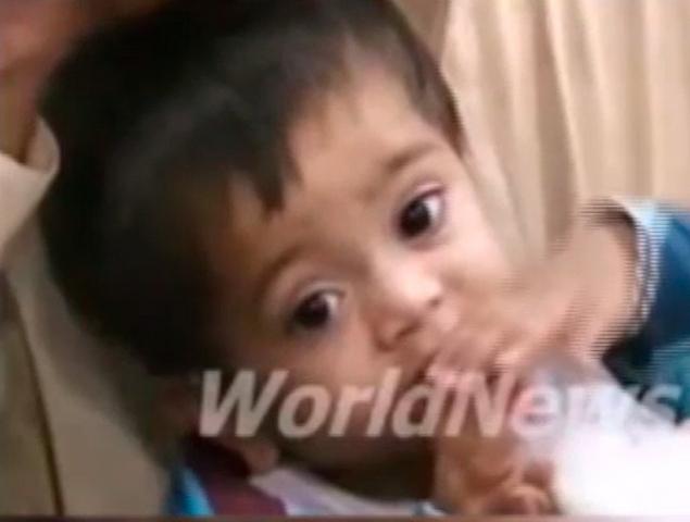 В Пакистане девятимесячного ребенка обвинили в покушении на убийство