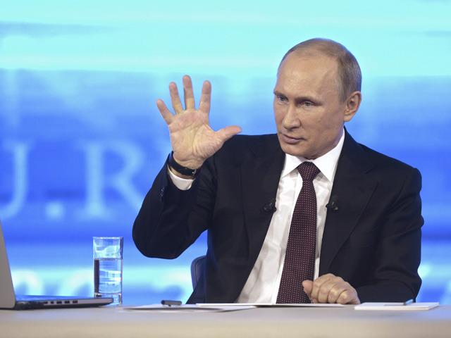 ВидеоПутинки: как шутил Президент России на прямой линии с народом