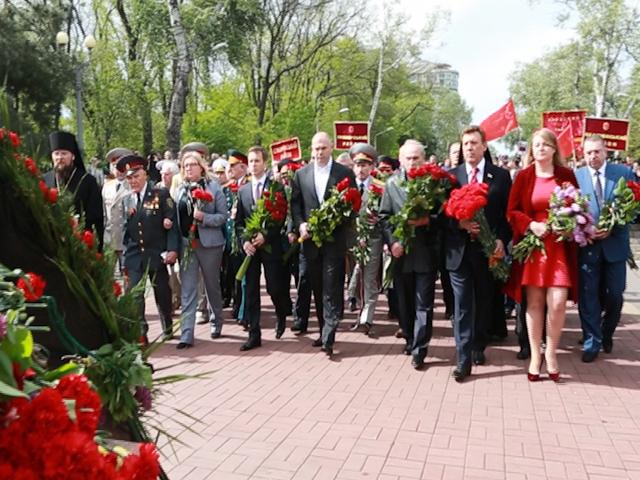 День Победы в Одессе проходит, несмотря ни на что