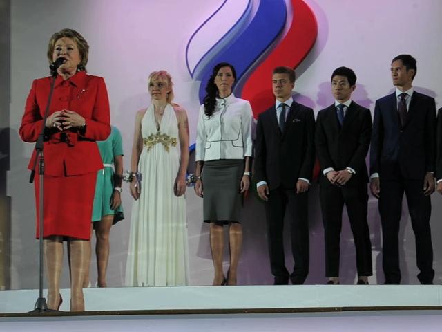 В Государственном Кремлевском дворце состоялся Бал олимпийцев России
