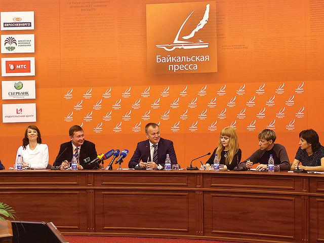 Губернатор отчитался перед прессой Иркутской области