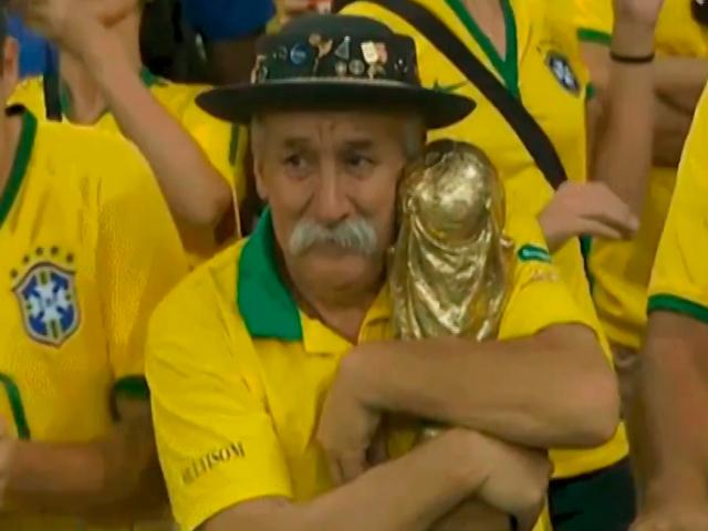 Какая боль! Как плачут бразильские болельщики...