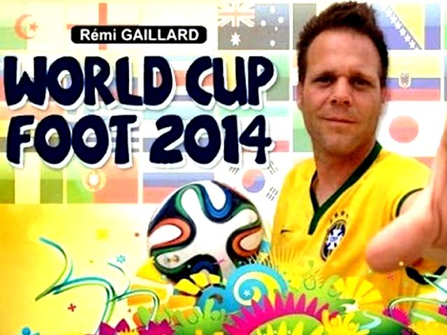 Французский комик Реми Гайяр исполняет 32 невероятных трюка с мячом в честь команд-финалистов ЧМ-2014