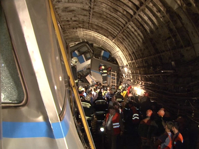 Авария в метро - трагедия, унесшая жизни 21 человека